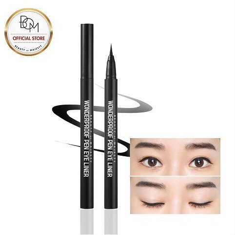KẺ MẮT NƯỚC BOM WONDERPROOF PEN EYE LINER - 02 WONDER BROWN