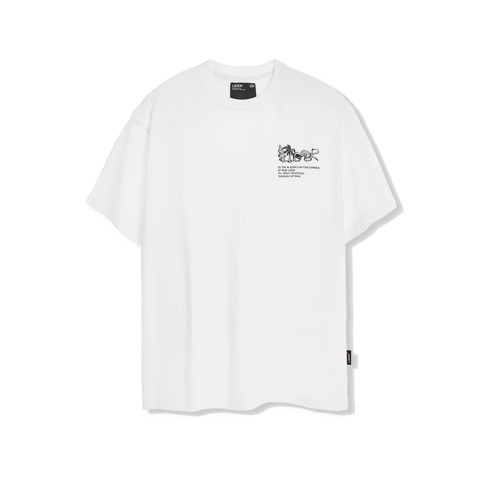 LIDER IN THE CLUB Tee WHITE