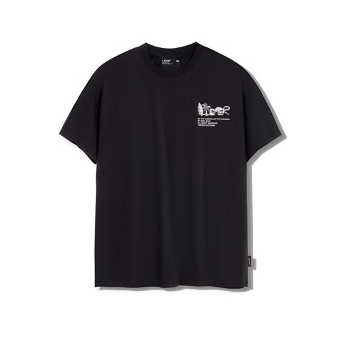 LIDER IN THE CLUB Tee BLACK