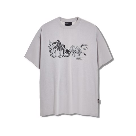 JAMAICA SUMMER Tee GREY
