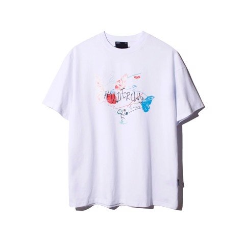 BABY BUTTERFLY Tee WHITE