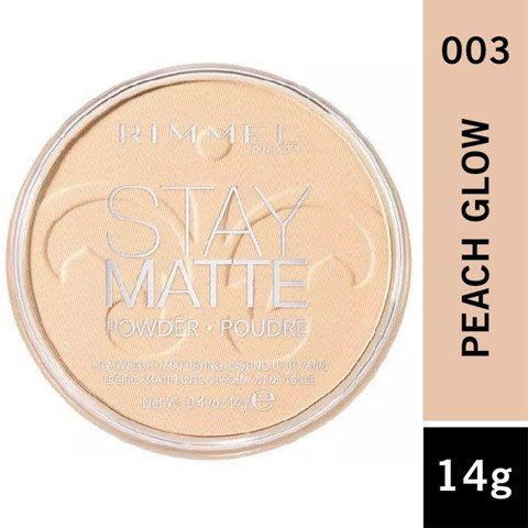 Rimmel London Stay Matte Powder Poudre #003 Peach Glow