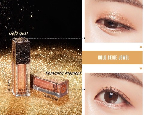 Missha Jewel Drop Liquid Shadow #Gold Dust