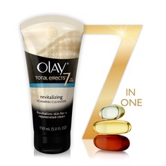 Olay Total Effect 7 In One Refreshing Citrus Scrub Cleanser 150ml