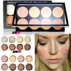 ODBO 8 colour Highlight & Contour Pro Palette