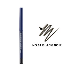 Bút Kẻ Mắt Dạng Sáp The Face Shop Super Proof Automatic Eyeliner #01 Black