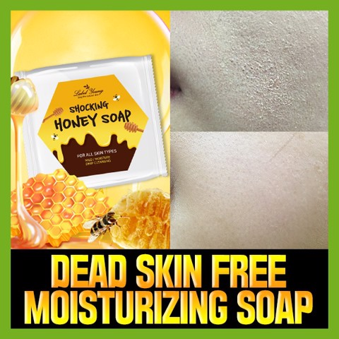 Label Young Shocking Honey Soap For All Skin Types