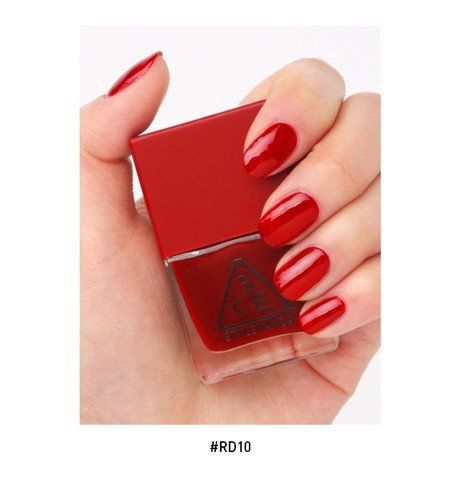 Sơn Móng Tay 3CE Red Recipe Long Lasting Nail Lacquer 10ml #RD10