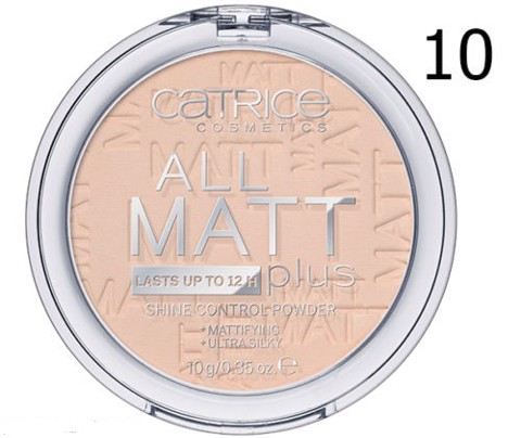 Catrice All Matt Plus Shine Control Powder 10g (3 tone)