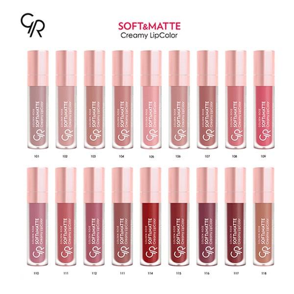 Golden Rose Soft Matte Creamy Lip Color 55ml Belladonna