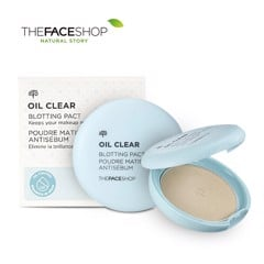 Phấn phủ kiềm dầu The Face Shop Oil Clear Smooth Bright Powder 9g (2 Tone Màu)
