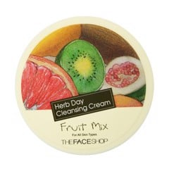 Kem Tẩy Trang The Face Shop Herb Day Cleansing Cream 150ml #Fruit Mix