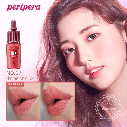 [New] Son Kem Lì Peripera Ink The Velvet Fall Collection Pink Moment 8g