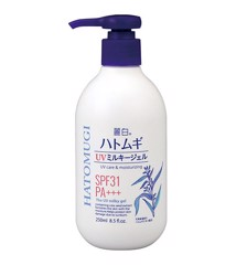 Hatomugi UV Milky Gel SPF31 PA+++ 250ml