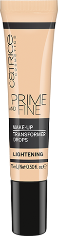 Catrice Prime And Fine Make Up Transformer Drops 15ml (2 tone)