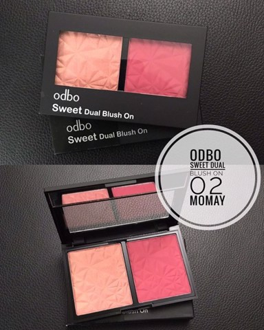 ODBO Sweet Dual Blush On # No 02