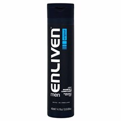 Enliven Mens 2in1 Shampoo & Conditioner 400ml