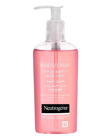 Gel Rửa Mặt Neutrogena Visibly Clear Pink Grapefruit Facial Cleanser 200 ml
