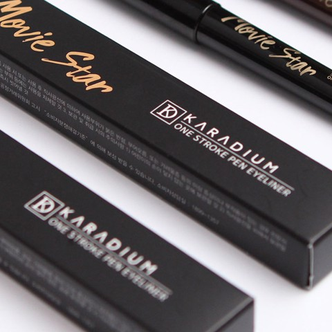 Kẻ Mắt Nước Karadium Movie Star One Stroke Brush Liner 1g