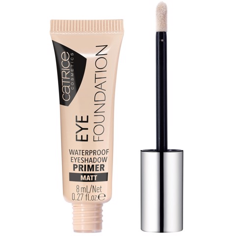 Kem Lót Mắt Catrice Eye Foundation Waterproof Eyeshadow Primer Matt 8ml #010 As Strong As You Are