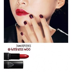 3CE Lip Color #409 Kiss Woo