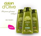 Dalan D'Olive Shampoo Nutrition Color Protection 400ml