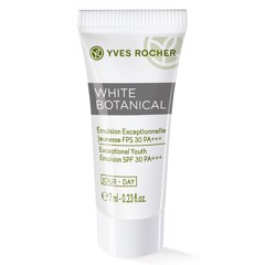 Sữa dưỡng da Yves Rocher Mini White Botanical Exceptional Youth Emulsion SPF 30PA+++ 7ml