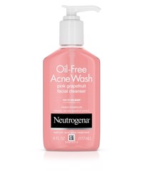 Neutrogena Oil-Free Acne Wash Pink Grapefruit Facial Cleanser 177ml