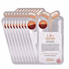 Combo of 10  Mediheal I.P.I Lightmax Ampoule Mask (25ml  x 10)