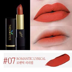 [Mẫu Mới 2018] Son Lì The Skin Face Bote Lipstick #07 Romantic Lyrical
