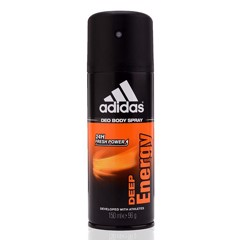 Xịt khử mùi nam Adidas Deo Body Spray 24H Fresh Power 150ml #Deep Energy