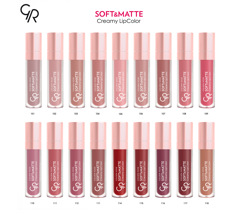 Golden Rose Soft & Matte Creamy Lip Color 5.5ml