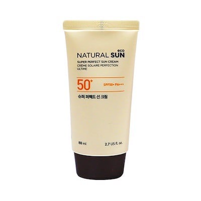 Kem Chống Nắng The Face Shop Natural Sun Eco Super Perfect Sun Cream SPF50+ PA+++ 80ml
