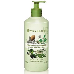 Sữa Dưỡng Thể Yves Rocher Almond Orange Blossom Relaxing Body Lotion 390ml