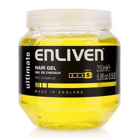 Enliven Hair Gel Ultimate 250ml (stiffness 5/5)