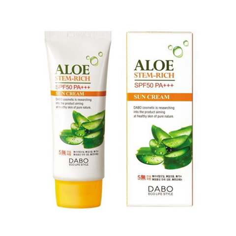 Dabo aloe stem-rich SPF50 pa+++ 70ml