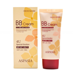 Kem Nền Aspasia 4U Special B.B Solution Cream SPF50 PA+++ 50ml