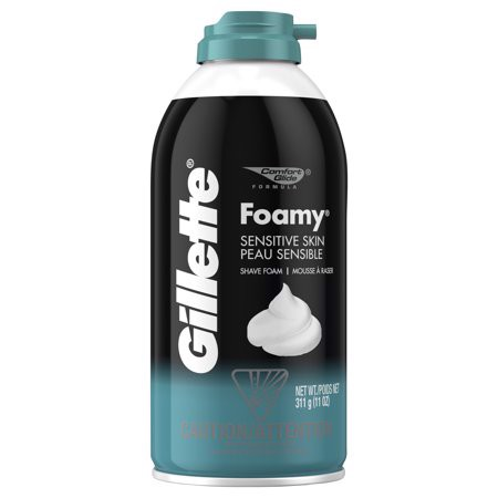 Gillette Foamy Sensitive Skin Shave Foam 311g