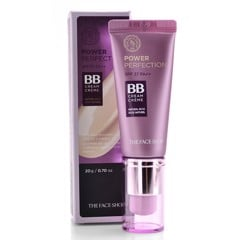 Kem Nền The Face Shop Power Perfection BB Cream SPF37 PA ++ 20g