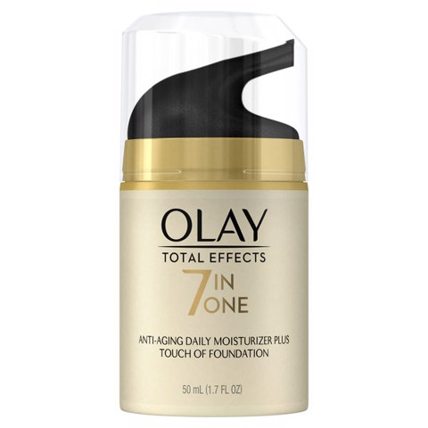 Kem Nền Trang Điểm Dưỡng Da Olay Total Effects Daily Moisturizer Plus Touch Of Foundation 50ml