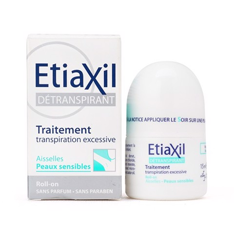Etiaxil Détranspirant Aisselles 15ml #Peaux Sensibles (For Sensitive Skin)