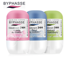 Lăn Khử Mùi Byphasse Deodorant 24h Roll On 50ml