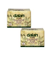 Olive DALAN ANTIQUE DAPHNE SOAP With Olive Oil 170g X 2