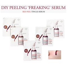 Sample Serum Thay Da Sinh Học So Natural Red Peel Tingle  (Combo 2, Combo 5)