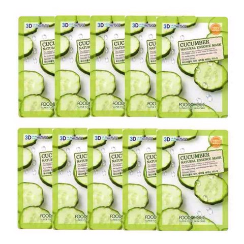 3D Foodaholic Natural Essence Mask 23ml X10 (All smells)