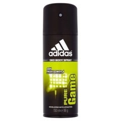 Adidas Deo Body Spray 24H Fresh Power For Men 150ml #Pure Game