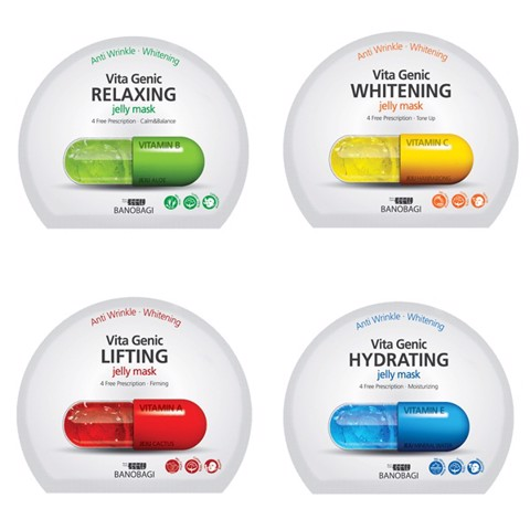 Combo of 5 Banobagi Vita Genic Jelly Mask - Lifting 5x30ml