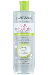 Evoluderm Micellar Cleansing Water Combination To Oily Skins 500ml