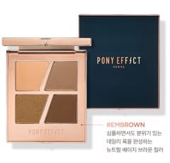 Pony Effect Conceptual Eyes Quad #Embrown