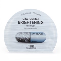 Banobagi Vita Cocktail Foil Mask For Dry Skin 30Ml #Brightening